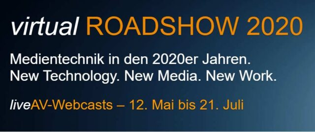 Roadshow 2020 – virtuell, am 30. Juni 2020 um 14 Uhr