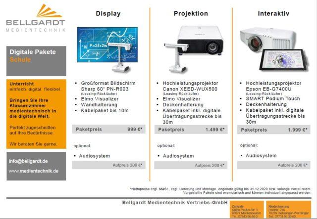 "Starter-Angebot – ""Digitale Pakete Schule"""