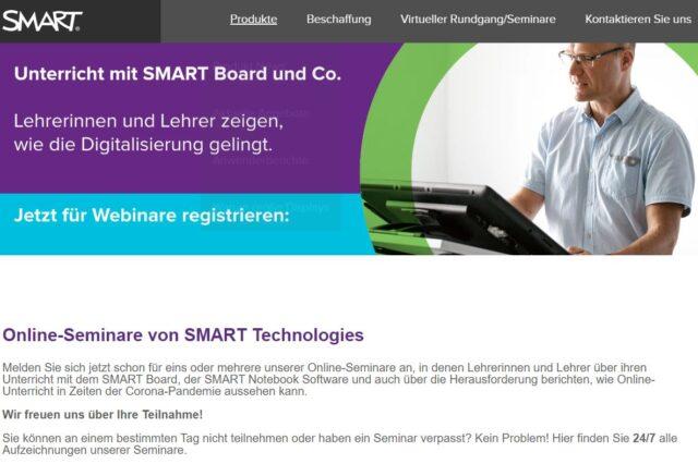 Online-Seminare für Online-Unterricht