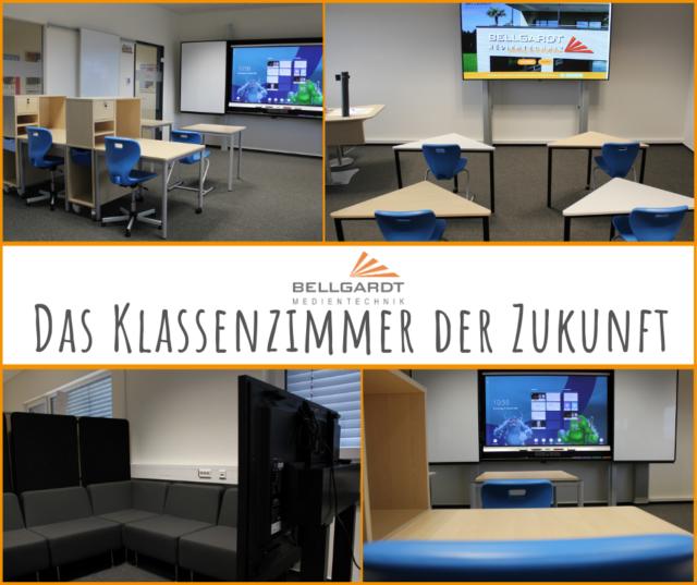 Klassenzimmer der Zukunft – unser NEUER MUSTERRAUM