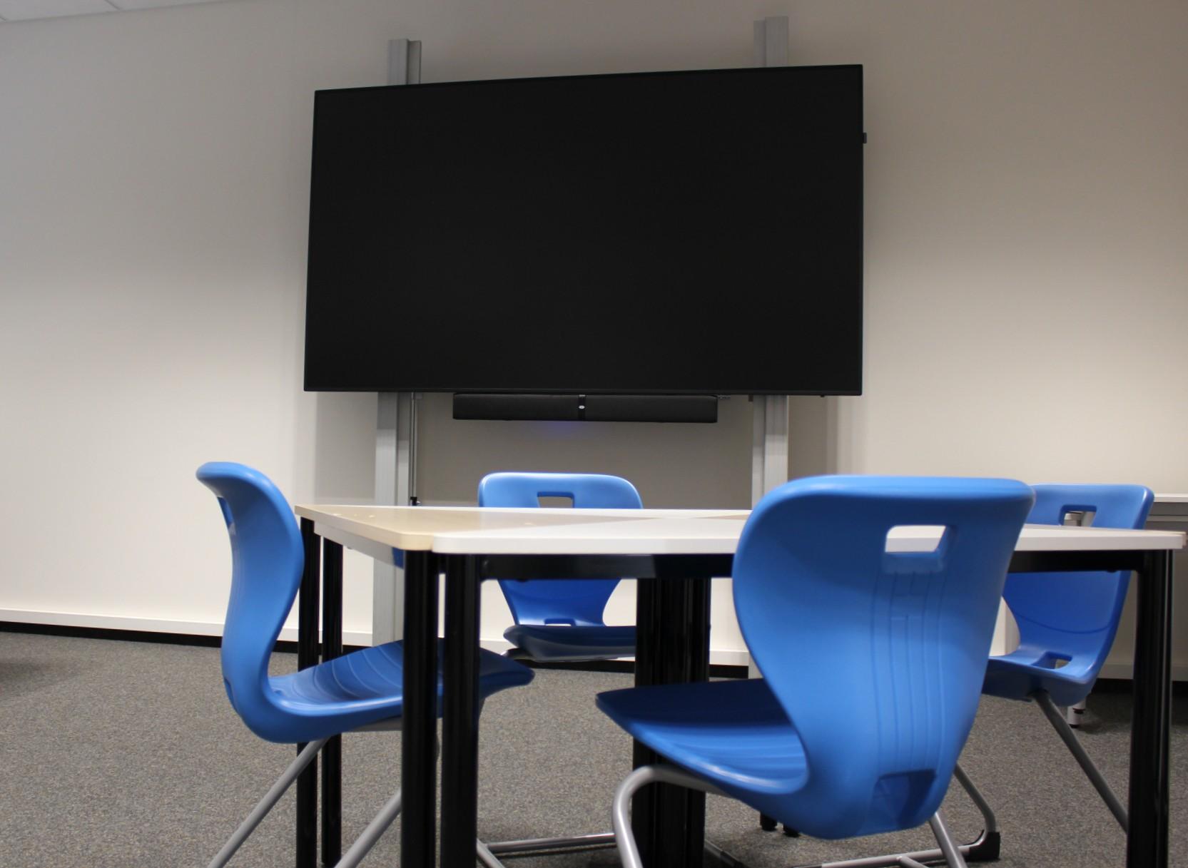 Klassenzimmer Gruppentisch