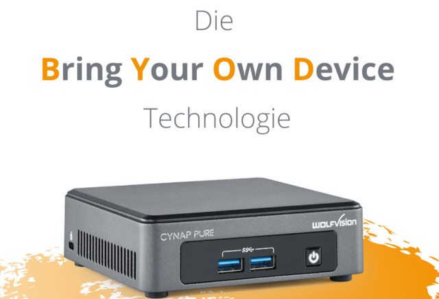 Hybrides Lernen mit der Cynap Pure Pro von WolfVision