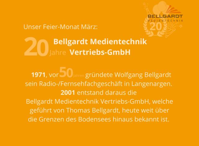 20 Jahre Bellgardt Medientechnik