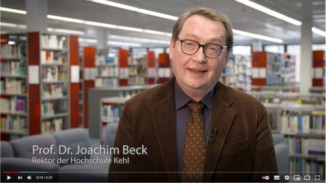 Referenzvideo Education: Medientechnik an der Hochschule Kehl