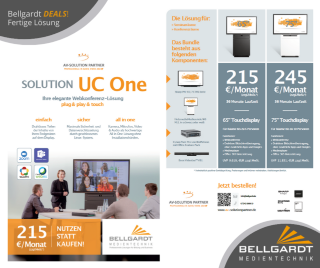 DEALS! – Solution UC One