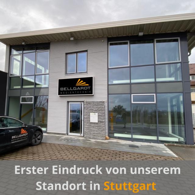 Erster Eindruck unserer neuen Niederlassung in Stuttgart