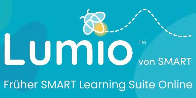 Aus SMART Notebook und SMART Learning Suite Online wird Lumio
